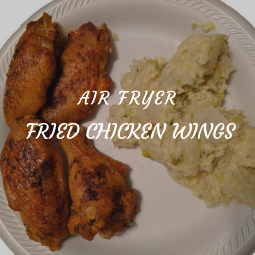Air Fryer Fried Chicken Wings in 16 minutes!