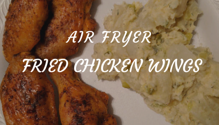Air Fried Fried Chicken Wings in 16 minutes!