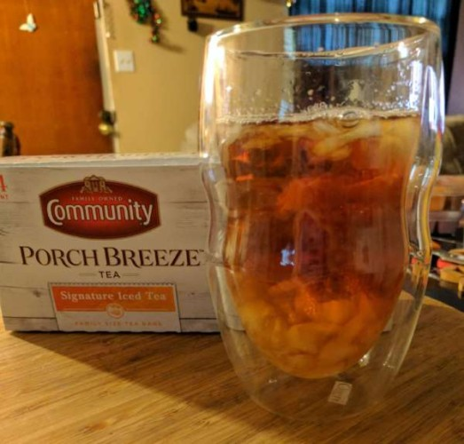 Have a Refreshing Glass of Community Coffee Porch Breeze Tea #AD
