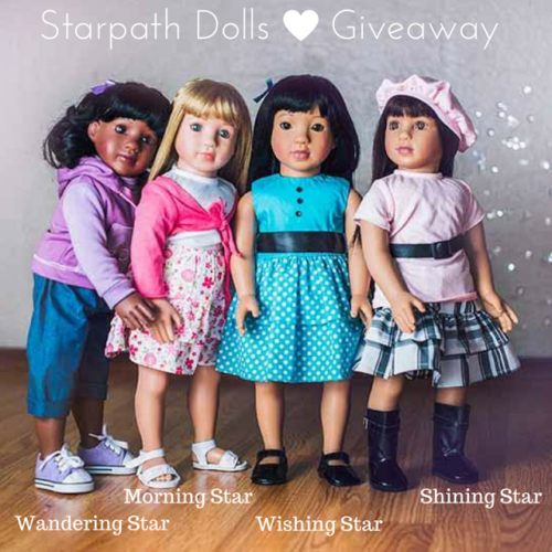Blogger Opp 18.5 Inch Starpath Dolls Giveaway! Bloggers sign up to help promote!