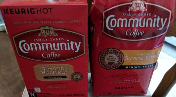 New Community Coffee Amber Sunrise Blend