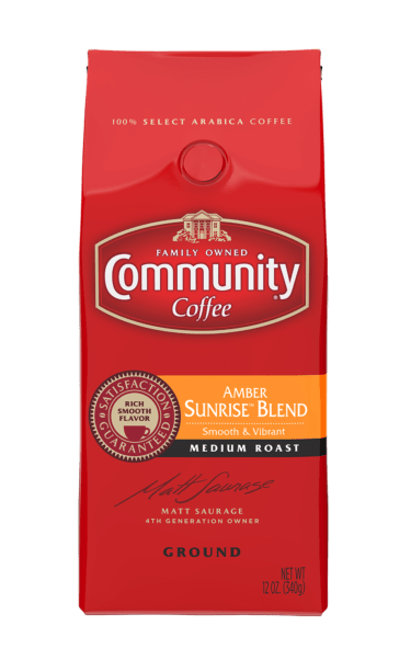 New Community Coffee Amber Sunrise Blend