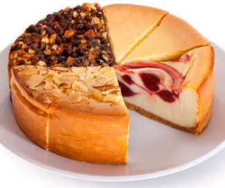 Gourmet Gift Baskets Cheesecake sampler