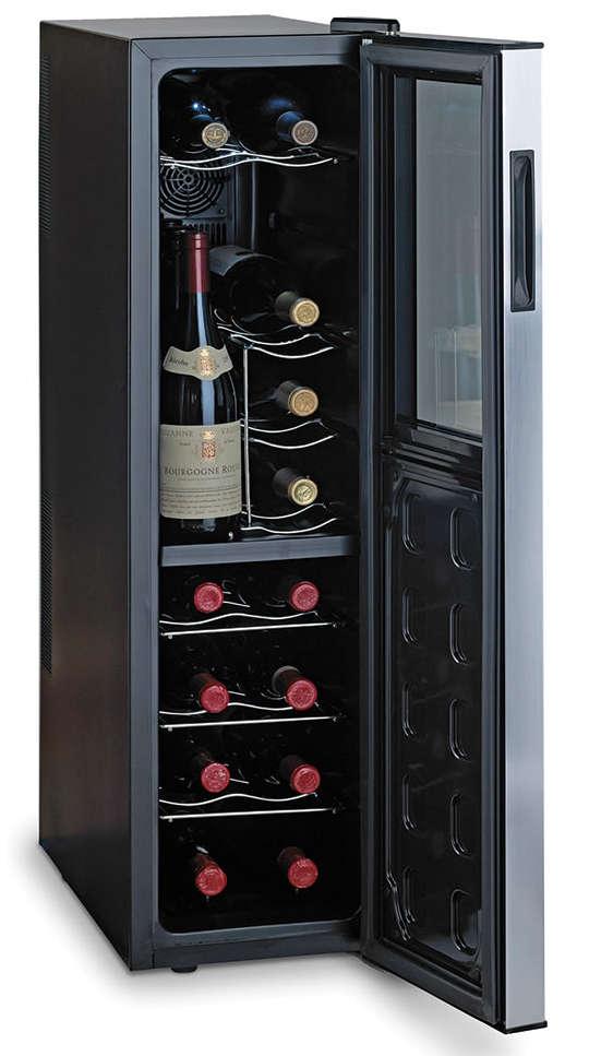 Hammacher Ultra Slim Wine Refrigerator