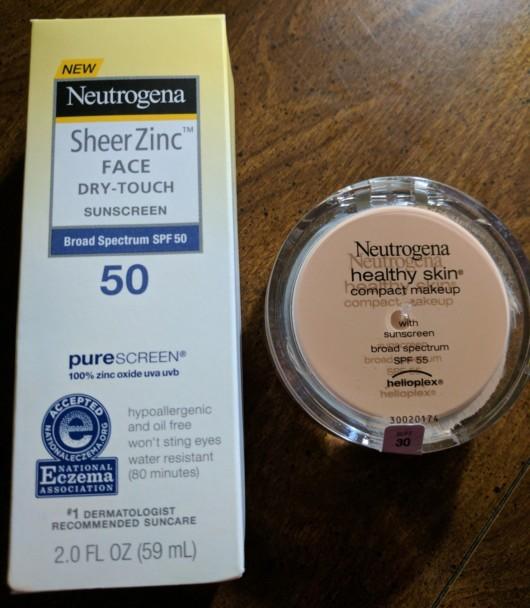 Neutrogena Facial Sun Products