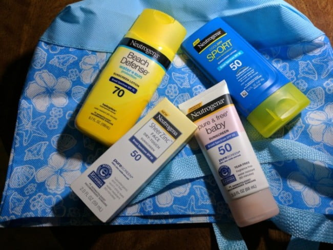 Neutrogena Suncare Products Protect Against Sunburn #AD #Summer2017