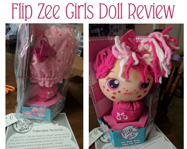 Girls will go crazy for a Flip Zee Girls Doll (2-in-1 Plush) #AD