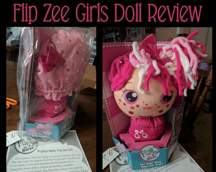 FlipZee Girls Doll