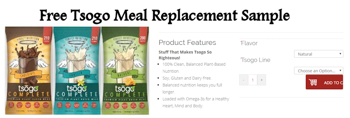 Free Tsogo Meal Replacement Shake