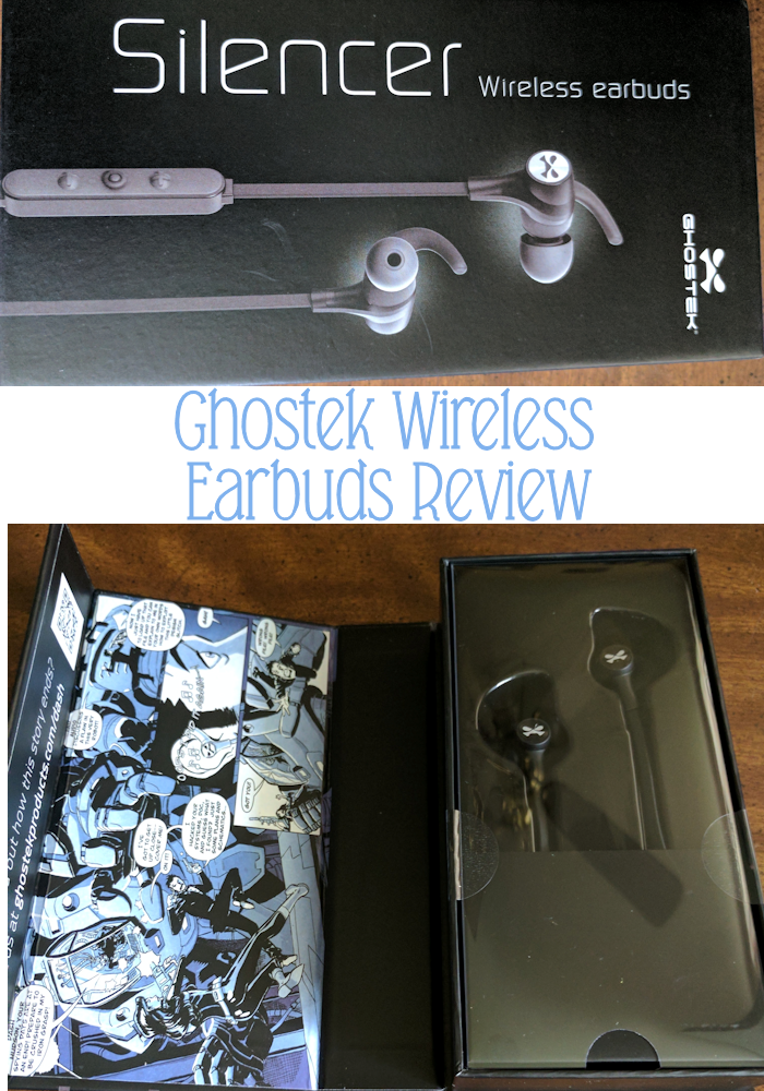 Ghostek Silencer Bluetooth Earbuds with Mic + Controls