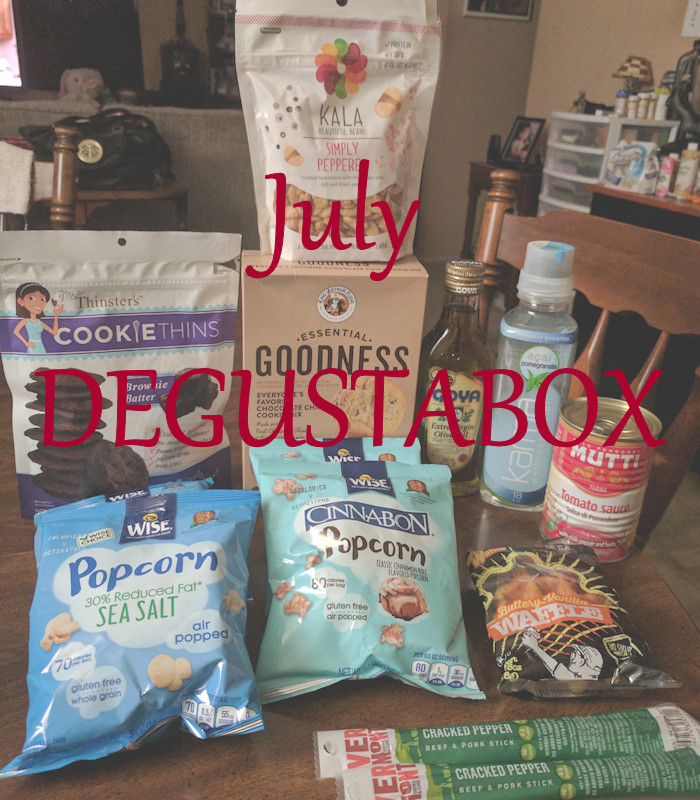 Degustabox {Food Subscription Box} July & August Unboxing #AD @DegustaboxUSA #DegustaboxUSA
