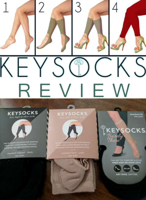 Keysocks Keep you Comfy in your Shoes! #AD #Review
