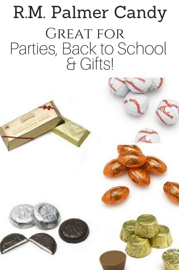 R. M. Palmer Candy for Parties + Back to School Lunch Snacks! #AD