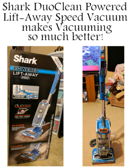 Deep Clean Carpets with a Shark DuoClean Powered Lift-Away Speed Vacuum #AD