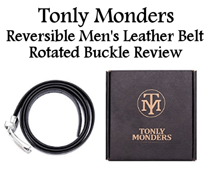 Reversible Men's Leather Belt