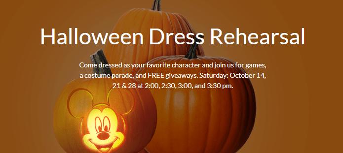 Disney Store Halloween
