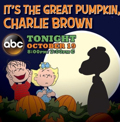 It's the Great Pumpkin Charlie Brown! Toy Story of TERROR! TONIGHT!
