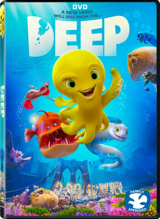 Deep Animated DVD Giveaway