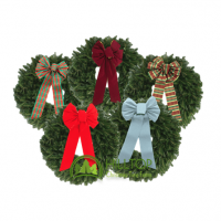Enjoy a Real Balsam Wreath from Hilltop Christmas Tree Farms