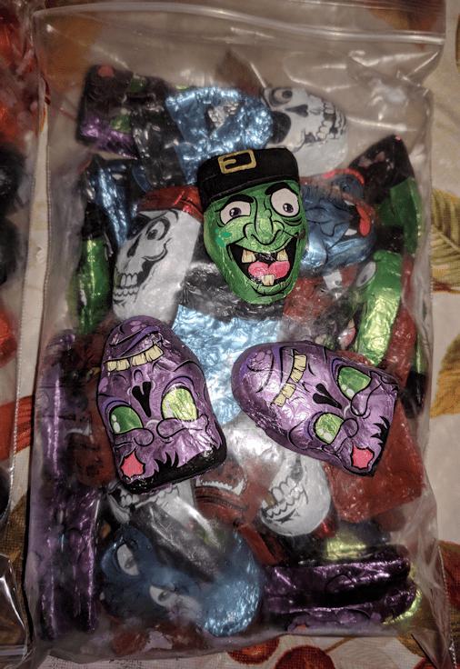 Palmer Halloween Candy