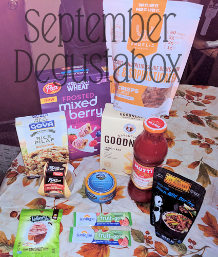 September Degustabox Food Subscription Review #AD @DegustaboxUSA #DegustaboxUSA