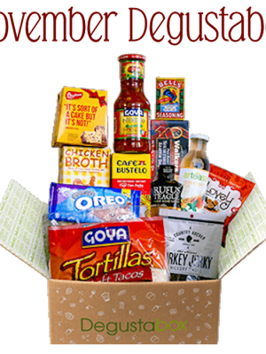 November Degustabox Food Subscription Review #AD