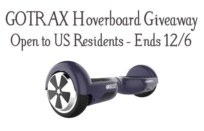 GOTRAX Hoverboard Giveaway