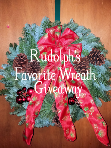 Rudolph's Favorite Christmas Forest Wreath #Giveaway #Christmas2017 @ChristmasForest