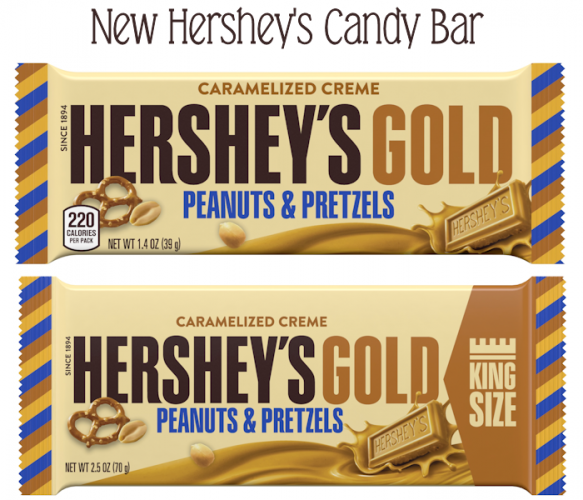 Who needs Chocolate when there's New Hershey's Gold! #AD #Christmas2017