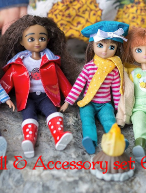 Lottie Doll Giveaway $25 Value- Santa Delivery! #holidaygiveaways #Christmas2017