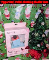 Santa Delivers Tippur Nail Polish Holder in Stockings! #Christmas2017