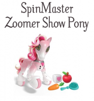 2017 HOT TOY! Santa to put a Zoomer Show Pony under the Tree #AD #Christmas2017