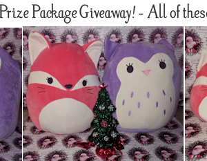 Enter to win our Squishmallow Giveaway #holidaygiveaways #Christmas2017 @squishmallows