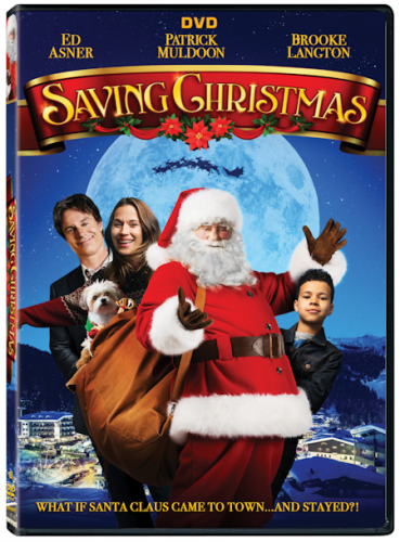 Ed Asner stars as Santa Claus in Saving Christmas #Christmas2017 #AD