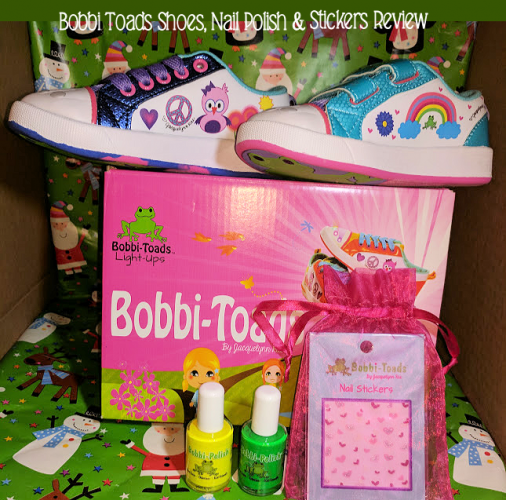 Give your Kids, Fashionably, Fun, and Unique, Bobbi Toads Shoes! #Ad #Christmas2017