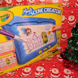 Crayola Magic Scene Creator Brings Imagination to Life #Christmas2017 #AD