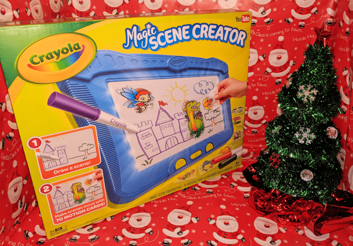 Crayola Magic Scene Creator Brings Imagination to Life #Christmas2017 #AD