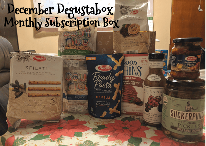 December Degustabox Monthly Food Subscription Box @DegustaboxUSA #DegustaboxUSA