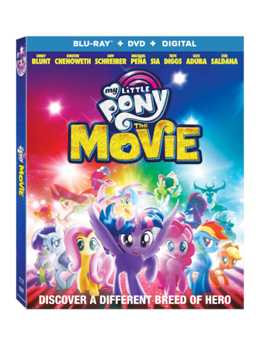 MY LITTLE PONY THE MOVIE arrives on Blu-Ray Combo Pack January 9th