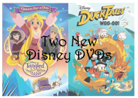 New Disney DVDs: DuckTales Woo-oo! & Tangled #Christmas2017 #AD