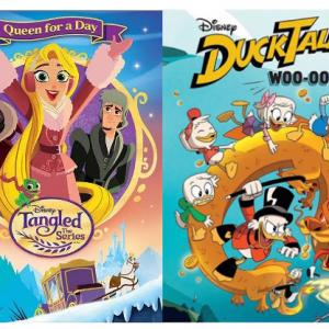 Disney DVDs DuckTales Woo-oo! & Tangled Series #Giveaway #holidaygiveaways #Christmas2017