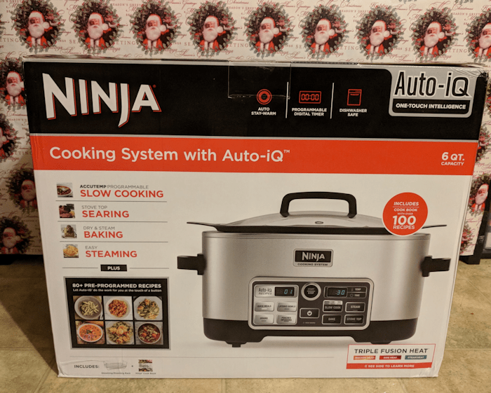 Make Cooking Easier with the Ninja Cooking System with Auto-iQ #Christmas2017