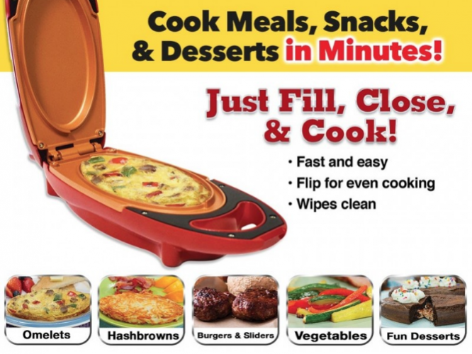 Make Cooking Faster with a Red Copper 5 Minute Chef! #Christmas2017 #AD