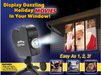 Add Magic to your Christmas Lighting with Star Shower Window Wonderland #Christmas2017
