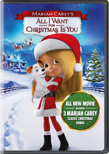 All I Want for Christmas is You on Blu-Ray! Narrated by Mariah Carey #Christmas2017 #AD