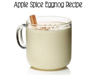 Be the Hit at Holiday Parties with this Apple Spice EggNog Recipe