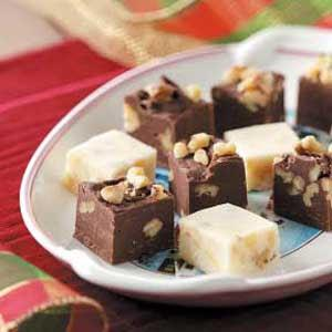 Going to a Party? Don't forget to bring the EGGNOG FUDGE! #Christmas2017