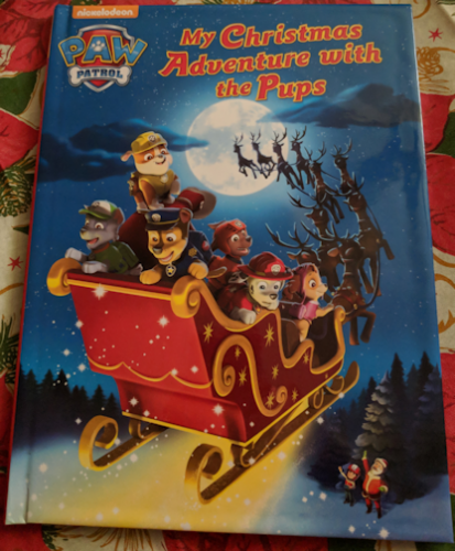Kids will Love their Paw Patrol Christmas Adventure from Penwizard Personalized Books #Christmas2017 #Ad