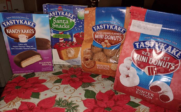 Tastykake is helping Santa with Tastykake Winter Limited Edition Snacks #Christmas2017 #AD