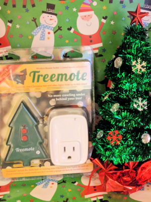 Turn your Christmas Tree on with a Treemote! #Christmas2017 #AD